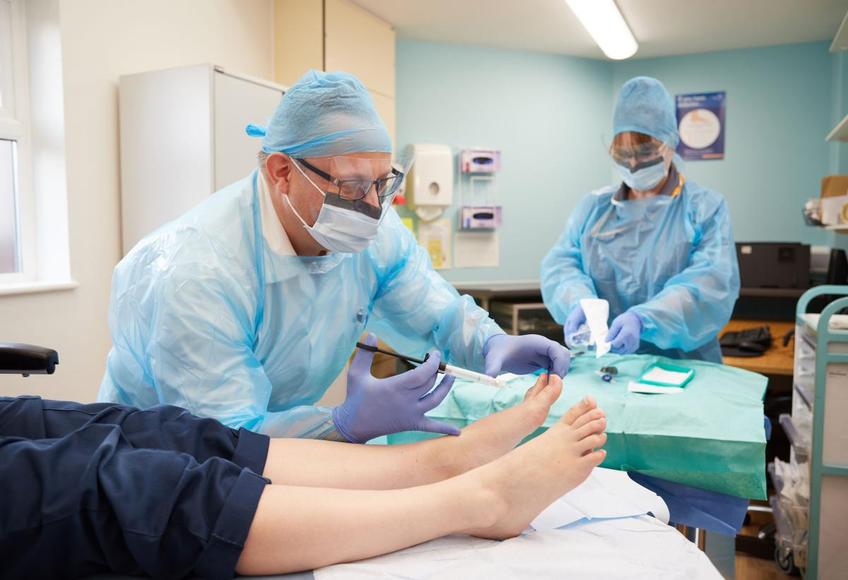 NCH&C Podiatry, foot surgery